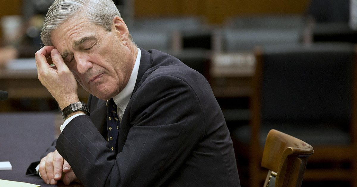 You're Surrounded Mr. Mueller, Give Yourself Up - The Truth is Becoming Too Big To Hide