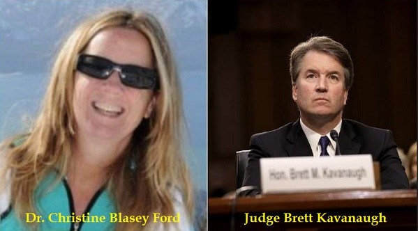 Audio evidence of Christine Ford's political adviser plotting in July against Judge Kavanaugh