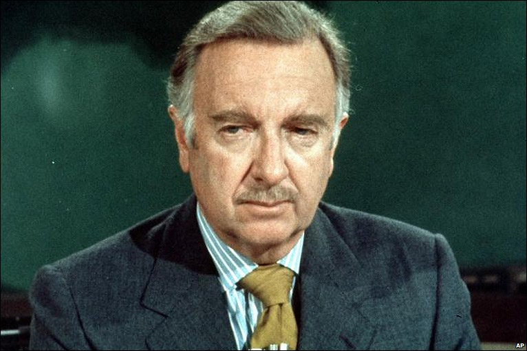 One-world-government Walter Cronkite: 'I'm glad to sit at the right hand of Satan'