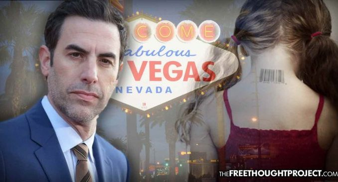 Sacha Cohen Appears to Expose Elite Pedo Ring While Filming in Vegas — FBI Ignores It Cohen-vegas-696x366