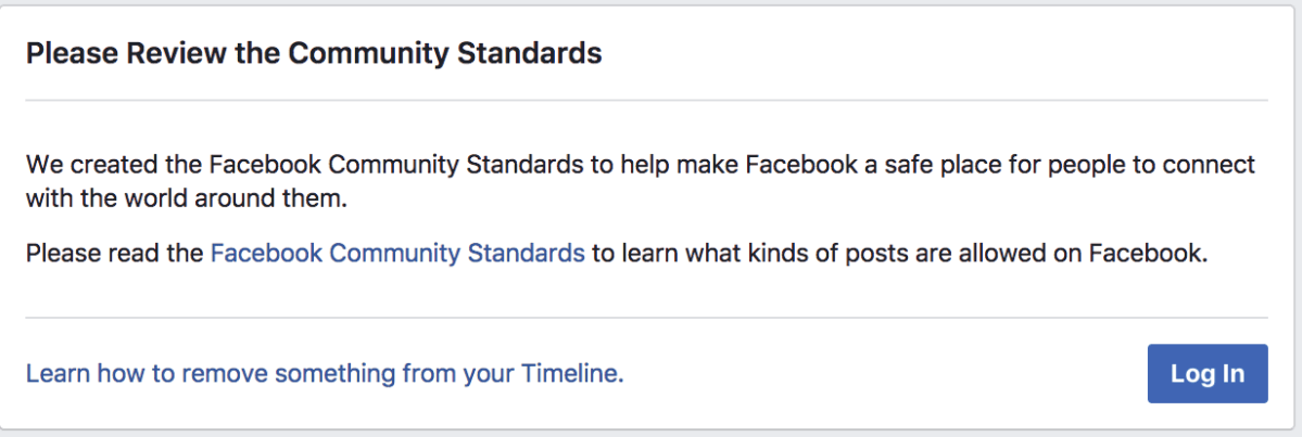 Instant Classic: See the Post That Got Me Suspended From Facebook on Sunday