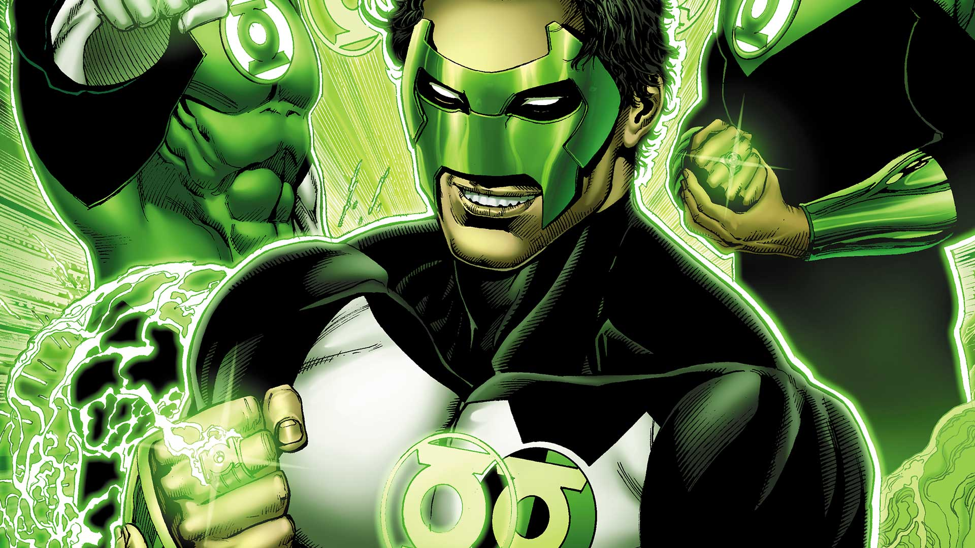 Image result for green lantern earth one