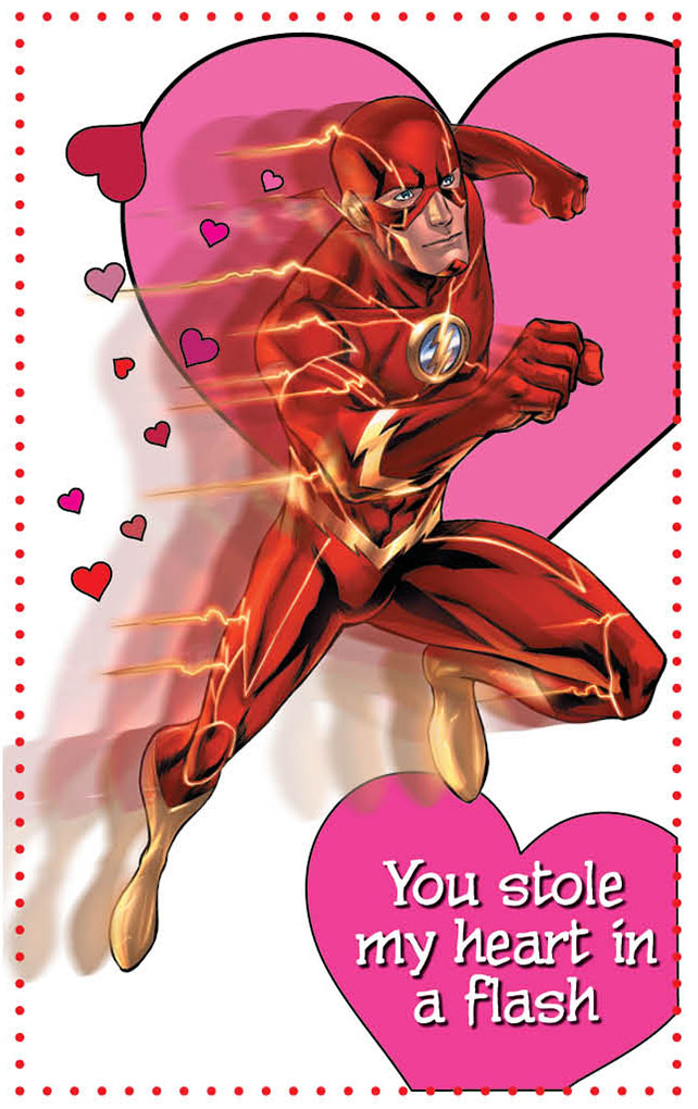 DC Comics The New 52 Valentines Day Cards DC