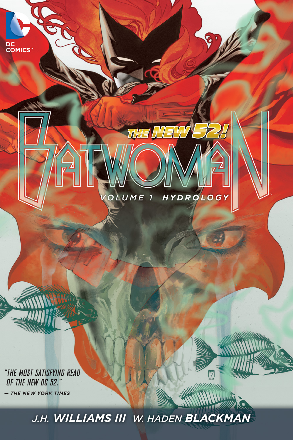 Batwoman: Hydrology, JH Williams III, W. Haden Blackman, Batwoman, Kate Kane
