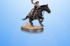 Enter the All-New DC All Access Giveaway for this Wonder Woman Movie Statue!