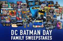 This is Your Chance to Win an Amazing Batman Day Prize Pack for the Whole Family!