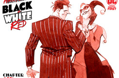 """HQBWR_06_Cover_5f2426800657f5.49522086 Harley Quinn Black + White + Red Chapter Six: """"Black, White Knight, and Red""""   DC Comics"""