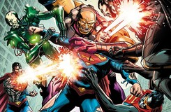 This Just Happened: Superman Takes on Six Enemies...Blind!