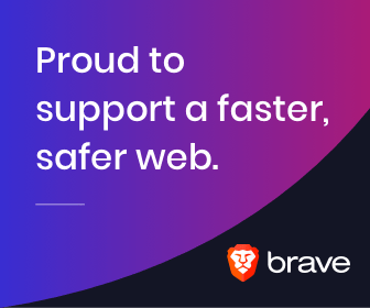 we support brave browser