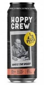 Pinta Hoppy Crew Who´s the boss 10,3% 50cl