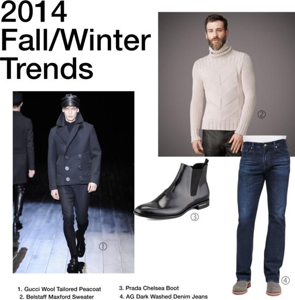 2014 F/W Men's Trends