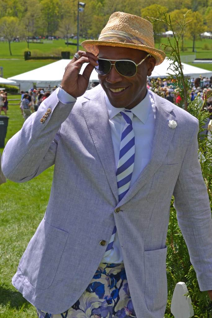 DCFashion-Fool-all-smiles at the Virginia Gold Cup