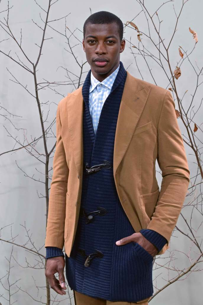 Oversized cardigan from Brett Johnson's A/W2016 collection