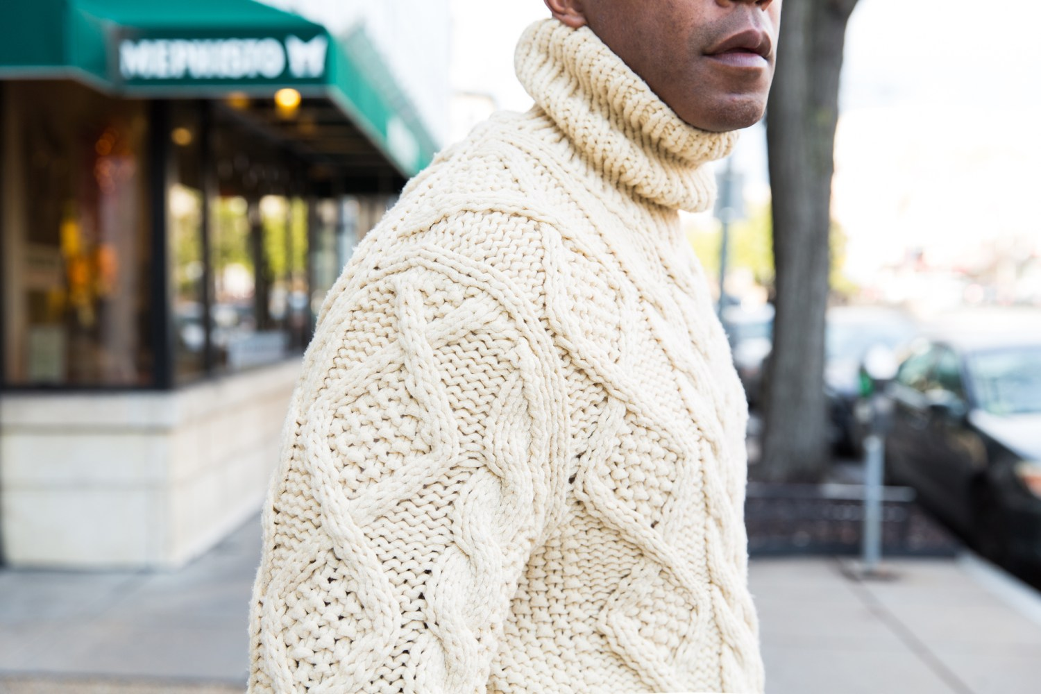 Chunky Sweater in Dupont Circle