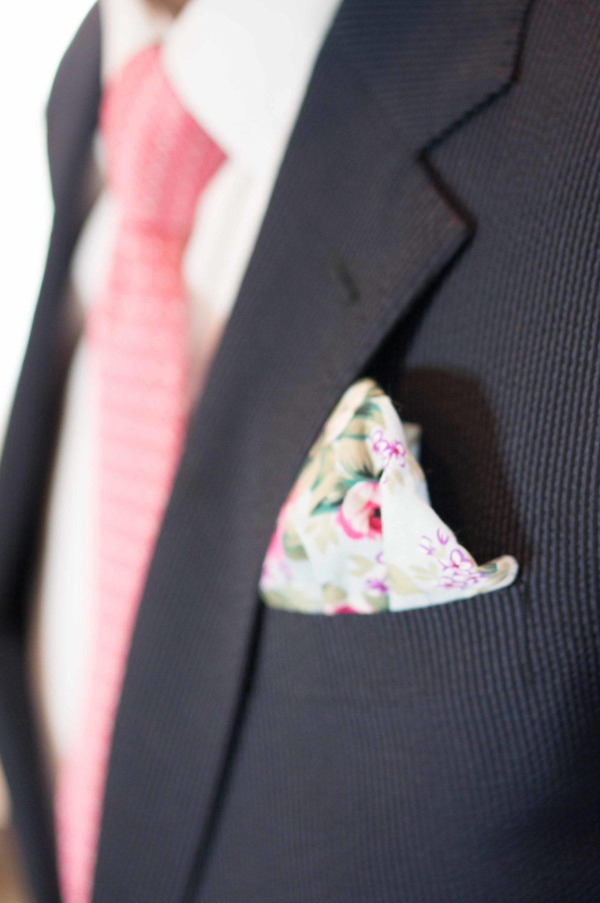 Father's Day salute pocket square
