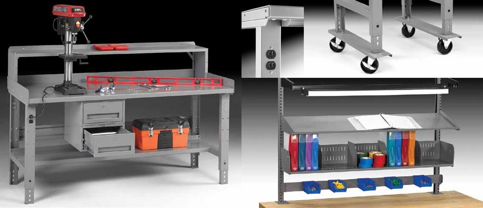 industrial workbenches heavy duty