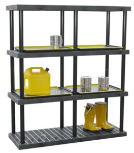 industrial shelving systems heavy