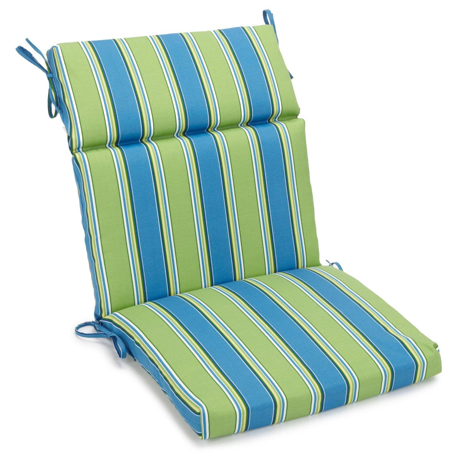 wicker chair cushions with ties ergonomic quilting 3 section 22 x 45 patio cushion patterned fabric