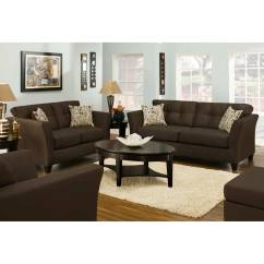 Del Mar Custom Sectional Sofa Triple Reclining Tufted Beijing Chocolate Fabric Dcg Stores