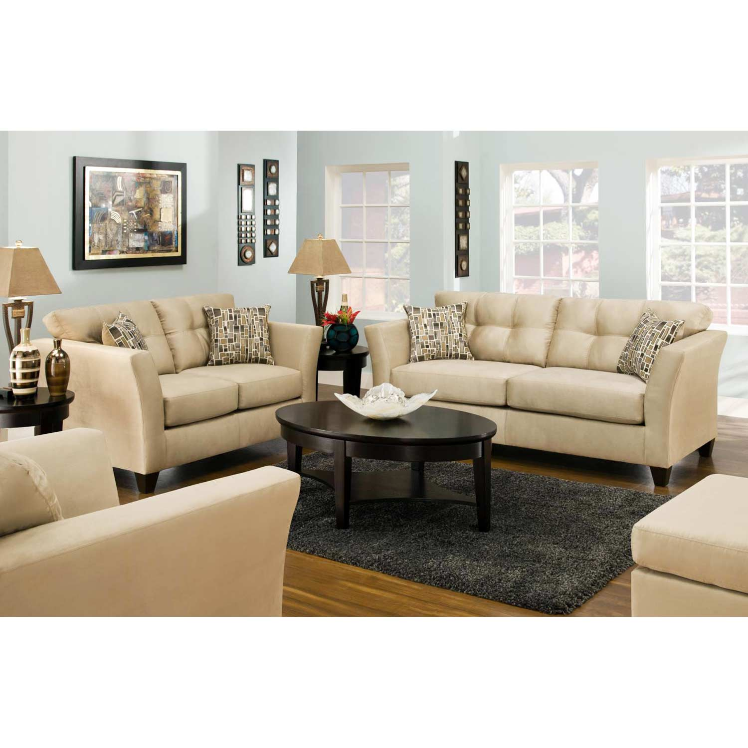del mar custom sectional sofa rooms to go outlet bed tufted beijing toast fabric dcg stores