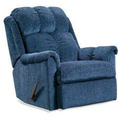Kitchen Pub Sets Ceramic Tile Tufted Rocker Recliner Chair - Tahoe Blue Fabric | Dcg Stores