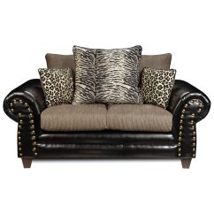 Tiger Print Sofa Set Old Time Pottery Covers Colbie Transitional Loveseat Leopard And