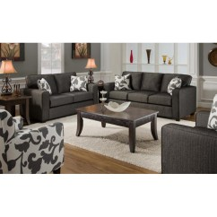 Living Room Sets With Accent Chairs Of Satoshi Review Bergen Talbot Onyx Upholstered Sofa Set Dcg Stores Chf