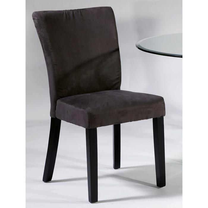 black parsons chair rustic lounge monica satin legs gray microfiber dcg stores ci prs