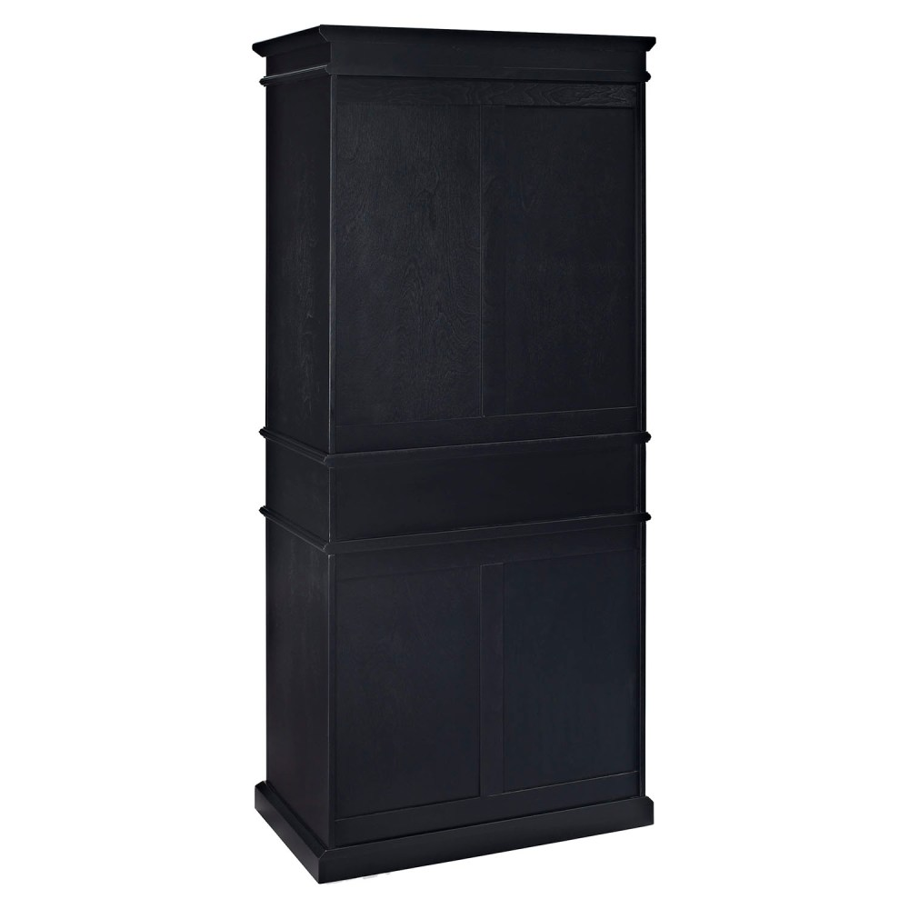 Parsons Pantry - Adjustable Shelves Black Dcg Stores
