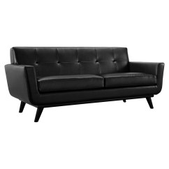 Tufted Sofa Set Austere Grey Reclining Engage 2 Pieces Leather Black Dcg Stores