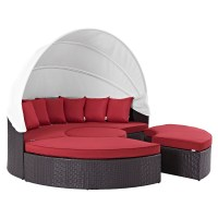 Quest Canopy Outdoor Patio Daybed | DCG Stores