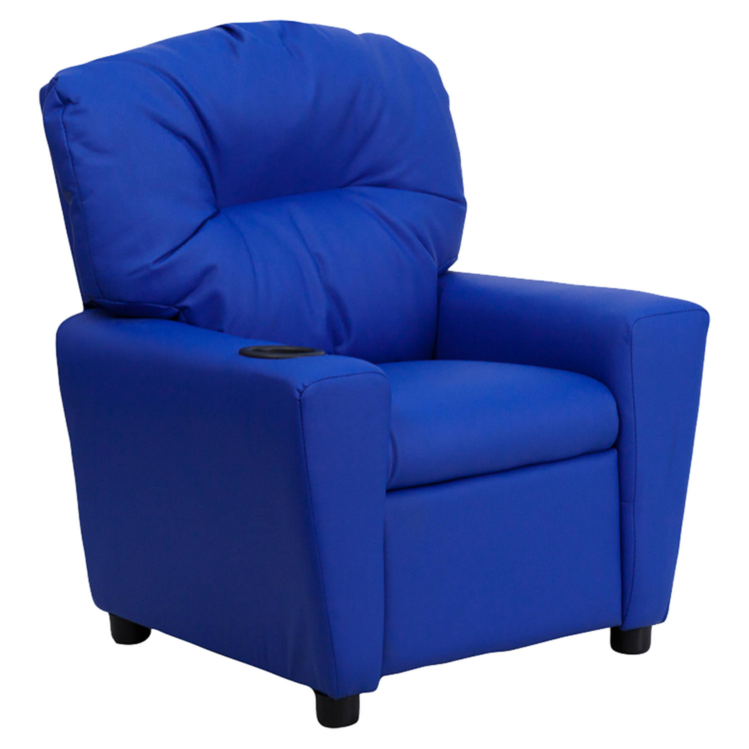 kid recliner chair sand chairs target upholstered kids cup holder blue dcg stores flsh bt 7950