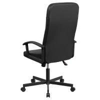 Racing Executive Swivel Office Chair - High Back, Black ...