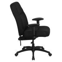 Hercules Series Big and Tall Office Chair - Black, Swivel ...