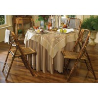 Bamboo Folding Chair - Brown | DCG Stores