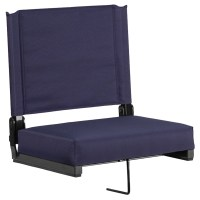 Stadium Chair - Ultra Padded Seats, Navy | DCG Stores