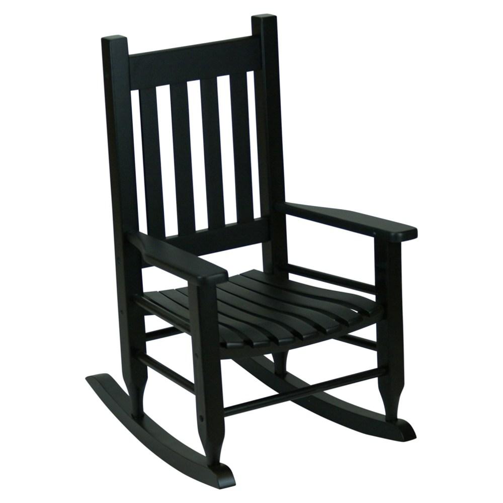 Plantation Childs Rocking Chair  Black  DCG Stores