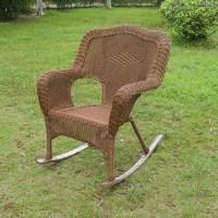 Monaco Wicker Porch Rocker Chair | DCG Stores