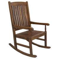 Tessa Wooden Patio Rocker Chair | DCG Stores