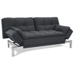 Loft Charcoal Sofa Bed 90 Inch Cover Boca Tweed Convertible Tufting Dcg Stores