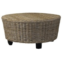 Hotel Caribe Round Ottoman / Coffee Table