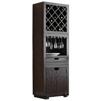 Modulare Wooden Wine Storage Tower - Dark Mahogany | DCG ...