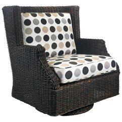 Rocker Outdoor Chairs Teak Wood Terrace Swivel Cushions All Weather Wicker Dcg Pad Ol Ter28r
