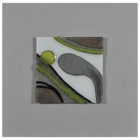 Motion I Wall Art - Abstract, Molded Glass, Square   DCG ...