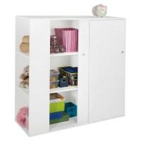 Storit Kids Storage Cabinet - 2 Sliding Doors, Pure White ...