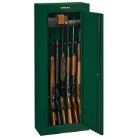 8-Gun Security Cabinet - Hunter Green | DCG Stores
