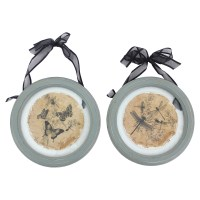 2-Piece Plate Wall Decor (Set of 4)   DCG Stores