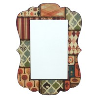 Multi-Color Mirror Wall Decor | DCG Stores