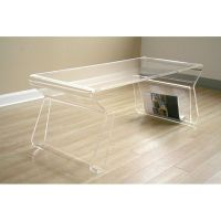 Clear Acrylic Coffee Table | DCG Stores