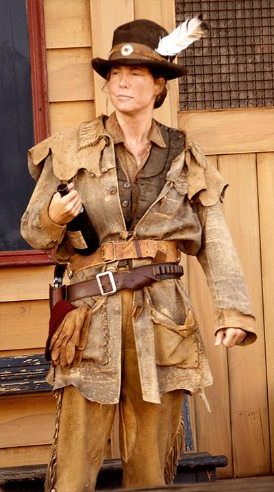 Robin Weigert as Calamity Jane on DEADWOOD